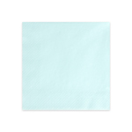 Middagsserviett, Light Sky Blue, 20-p