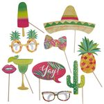 Photo Booth effekter - Tropical Party