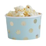 Treat tubs - Gold Dots Mint - 8-pakning