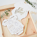 Baby Shower Advice Cards - 10 pack