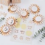 Badge Kit - Baby Shower
