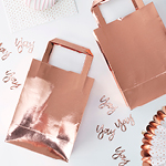 Party Bags - Roségull - 5 pack