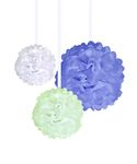Pom-pom, 3-pack, small, medium & large
