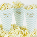 Kremmerhus, Baby Shower, Chevron Divine Mint