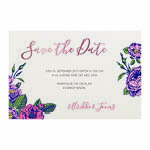 Save-the-date, Rosy Feeling