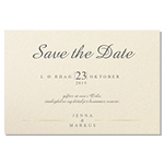 Save-the-date, Branche d'or