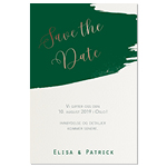 Save-the-date, Painted Elegance