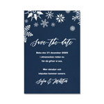 Save-the-date, Winter Night