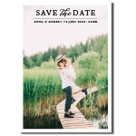 Save the date, fototrykk, It's a Date